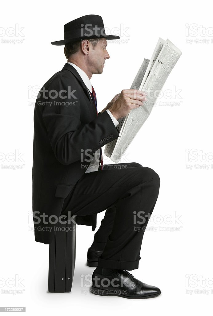 Unemployed royalty-free stock photo