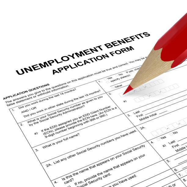 Antragsformular zur Arbeitslosenunterstützungsversicherung – Foto