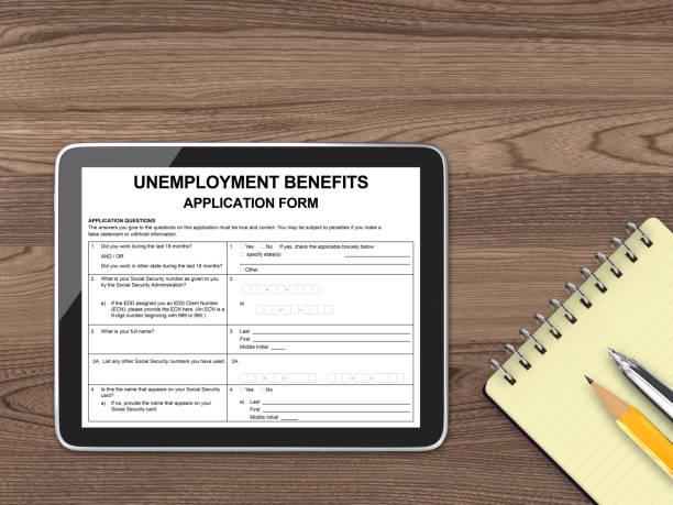 Antrag auf Arbeitslosengeldversicherung – Foto