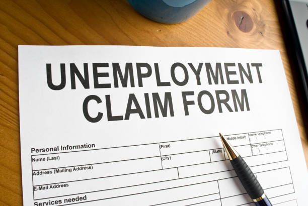 royalty free unemployment benefits claim form form pictures, images