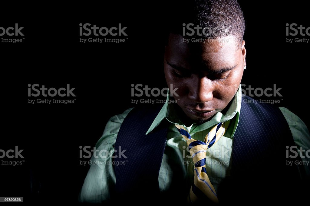 Unemployment Depression royalty-free stock photo