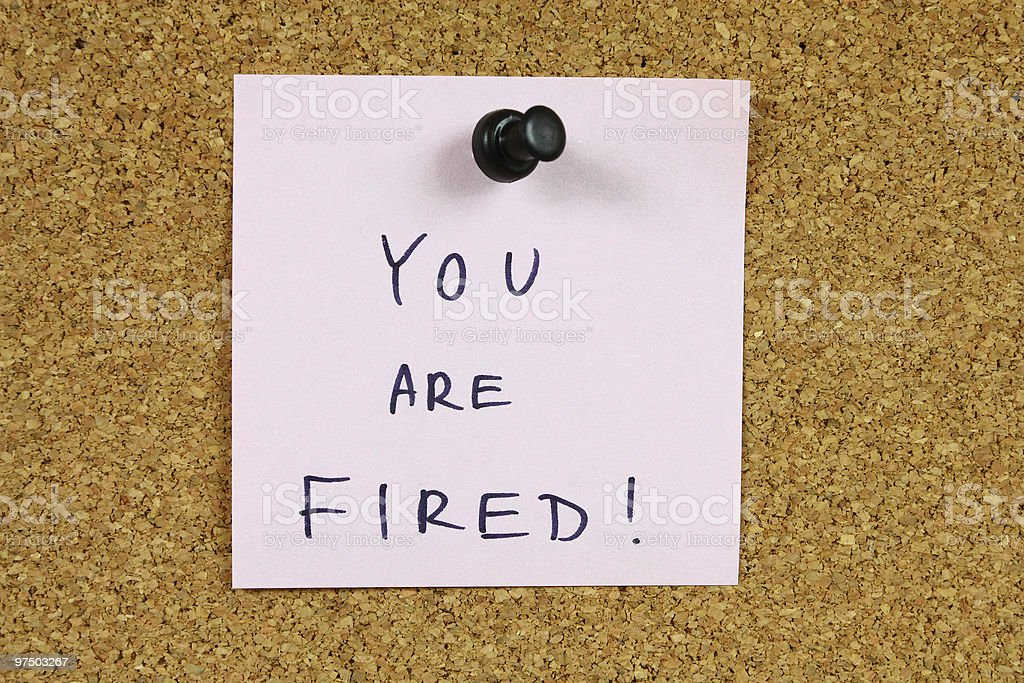 Unemployment royalty-free stock photo