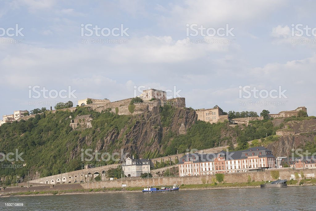 unesco heritage fortress royalty-free stock photo
