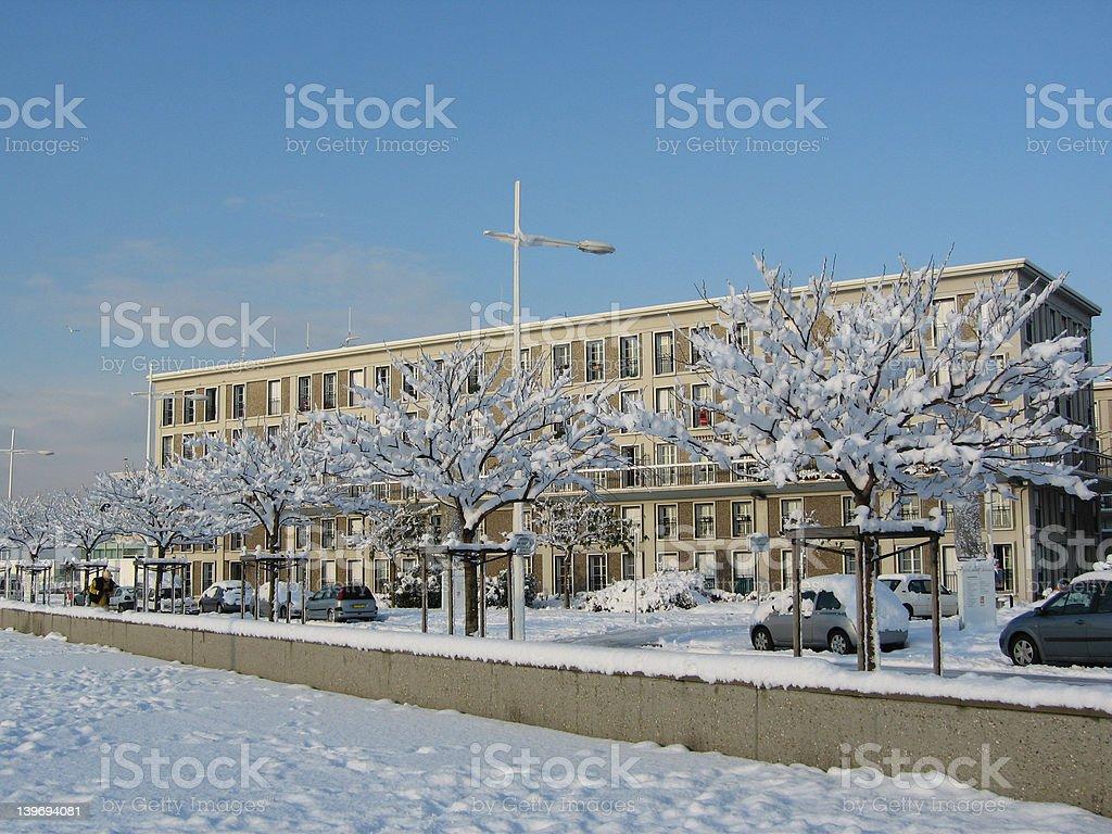 Unesco Le Havre stock photo