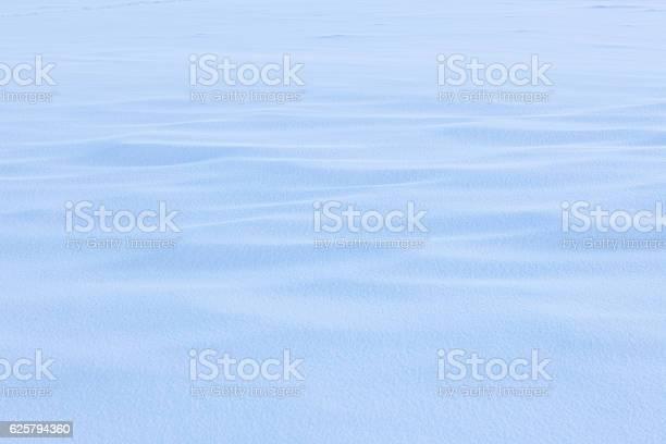 Photo of Uneven snowdrift background