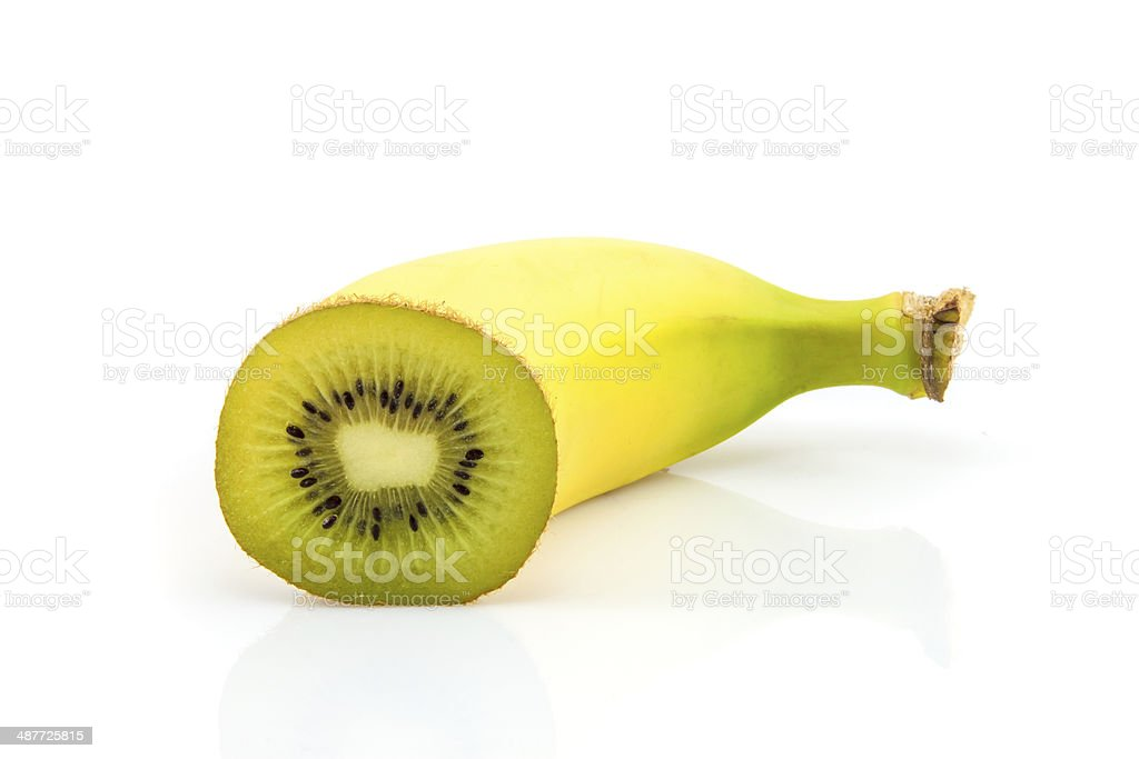 Unexpected fruit ending stock photo