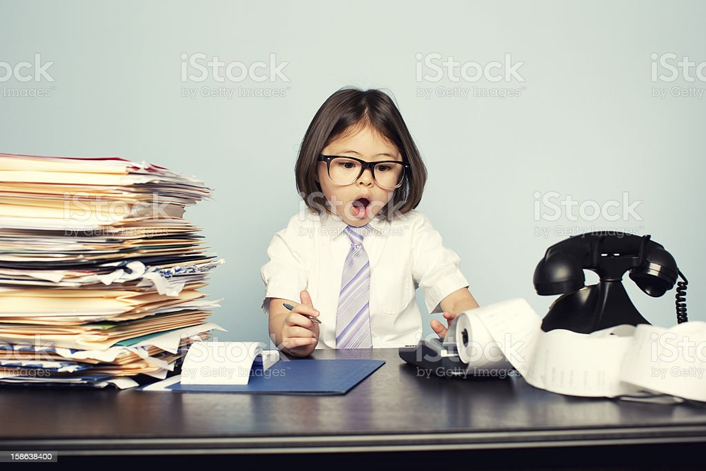 Unexpected Numbers royalty-free stock photo