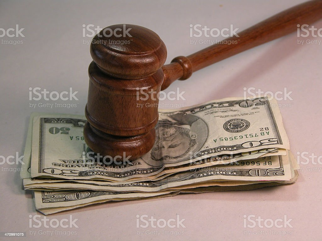 Unfair Justice royalty-free stock photo