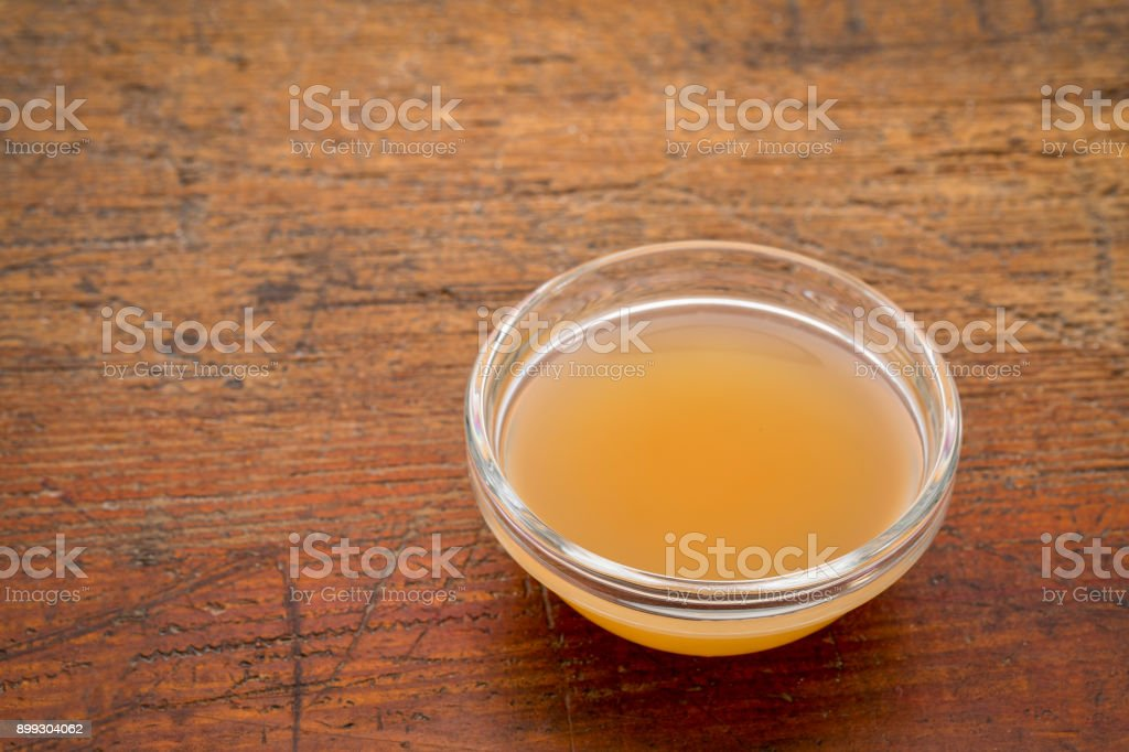 unfiltered, raw apple cider vinegar royalty-free stock photo