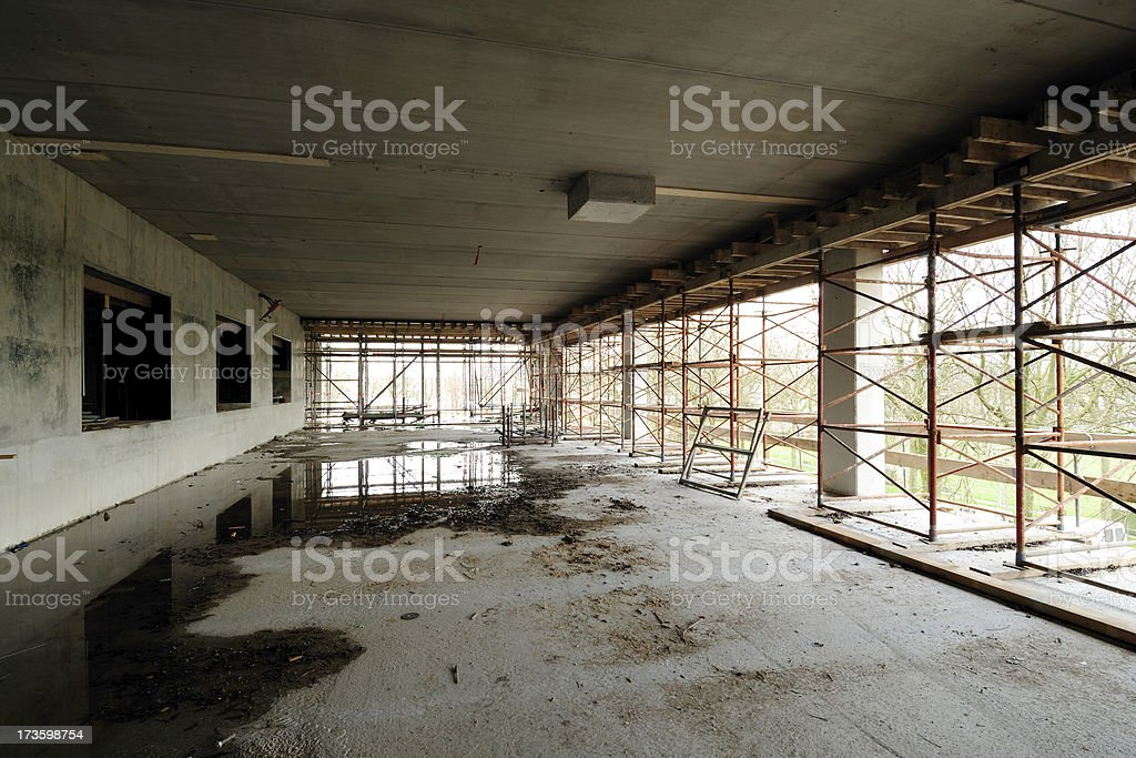 Unfinished building royalty-free stock photo