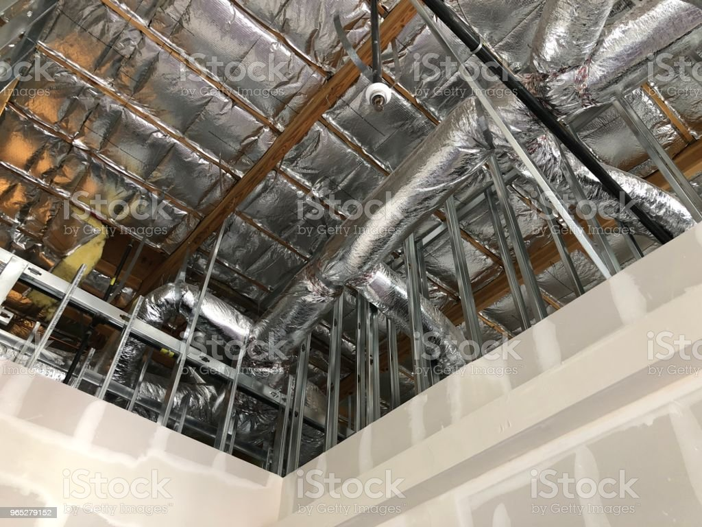 Unfinished business building royalty-free stock photo