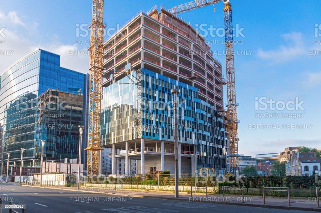 Unfinished EU building stock photo