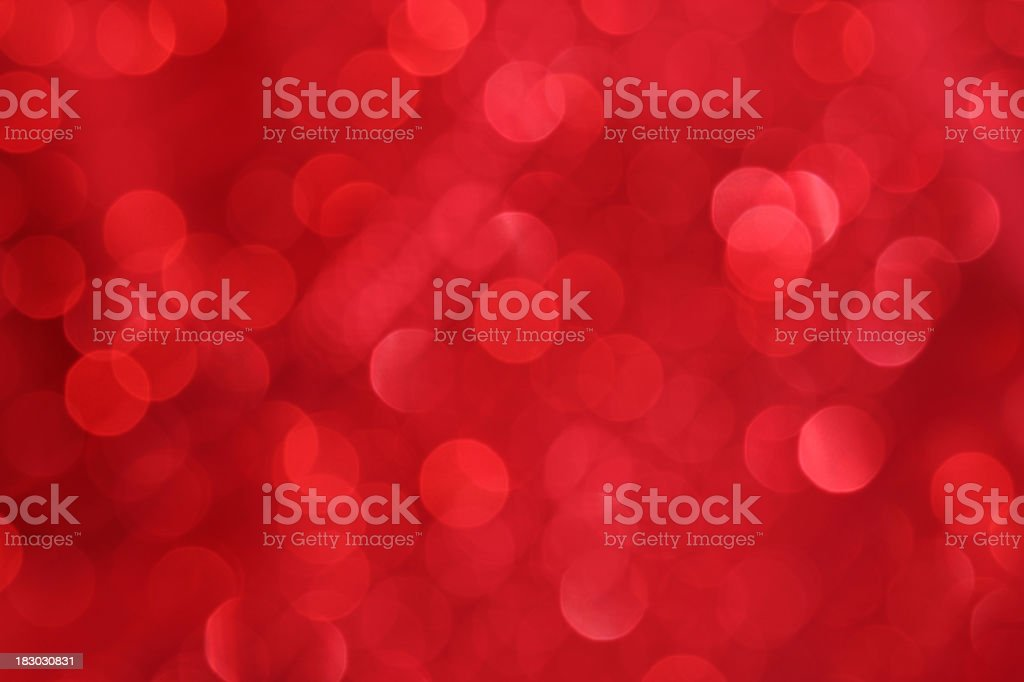 Unfocused red background lights royalty-free stock photo