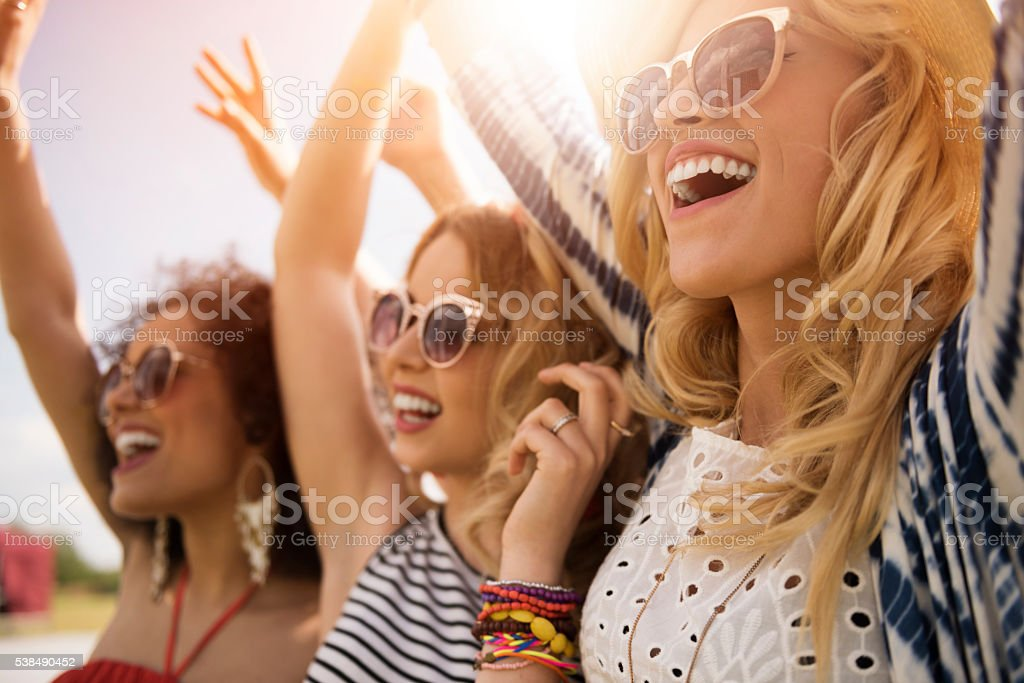 Unforgettable memories from the festival stock photo