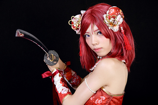 istock ung asian girl dressed in cosplay costume 542547726