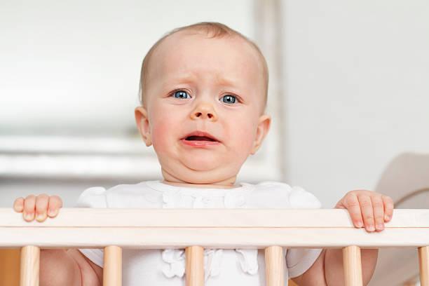 Nieszczęśliwy dziecka – zdjęcie