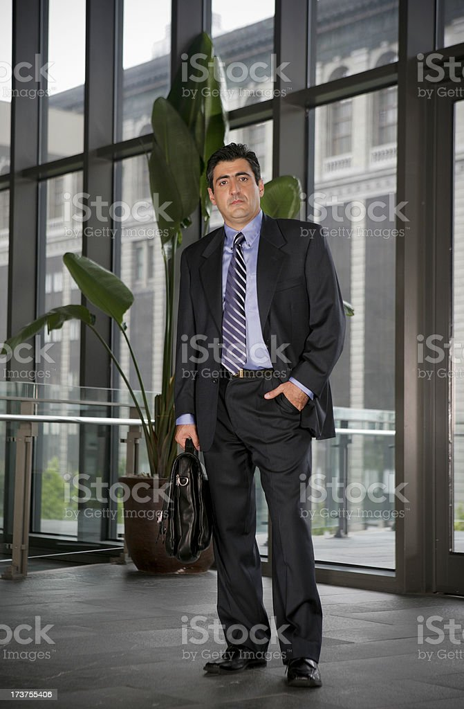 Unhappy Businessman royalty-free stock photo