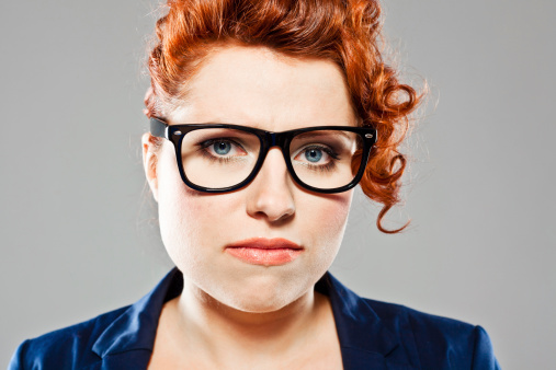 Unhappy Young Woman Stock Photo - Download Image Now