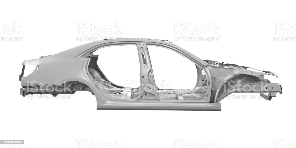 Unibody Car Chassis stock photo