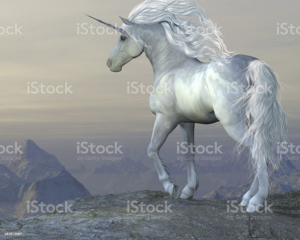 Unicorn Bluff stock photo