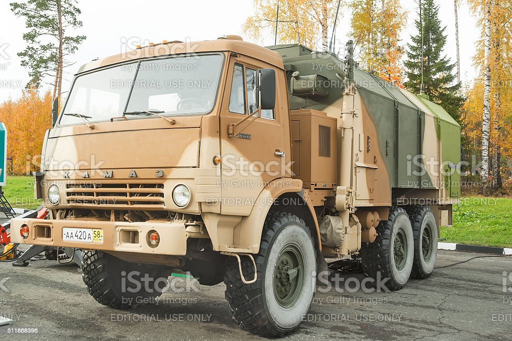 MP32M1 unified command and control vehicle stock photo