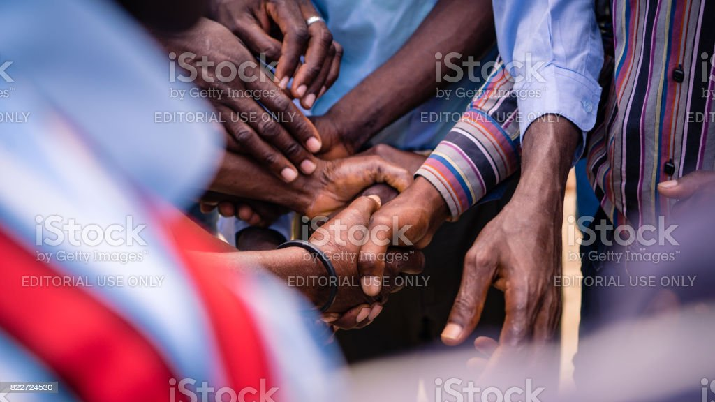 Unified Hands stock photo