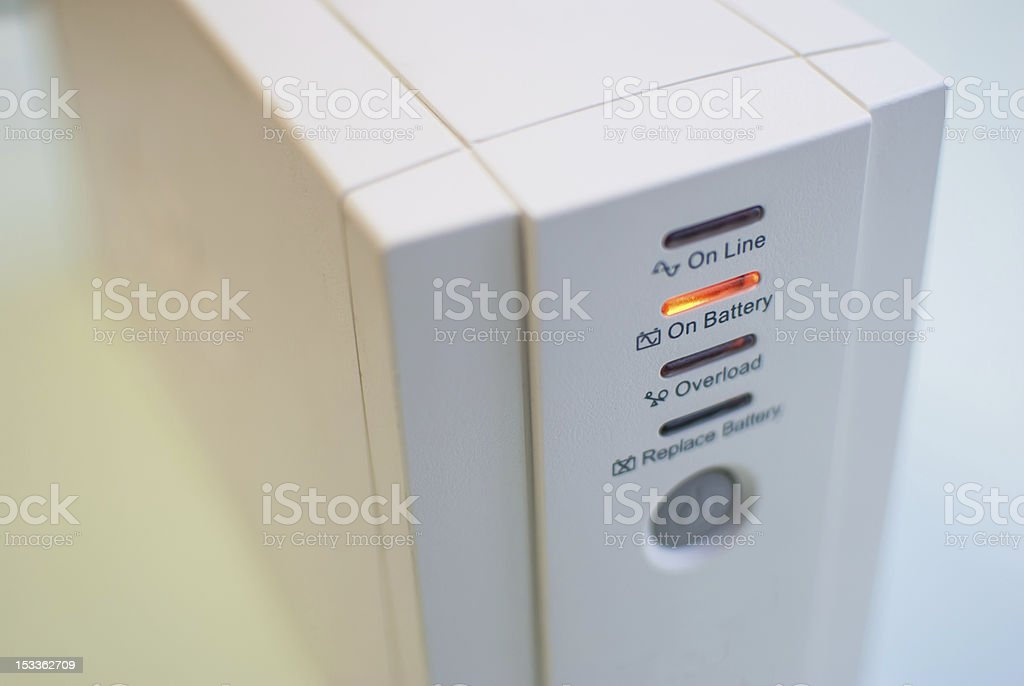 Uninterruptible Power Supply royalty-free stock photo