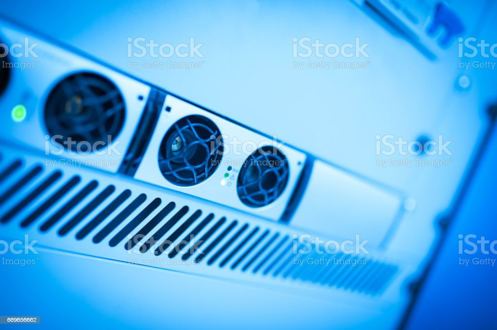 Uninterruptible power supply you can trust on it if there is stock photo