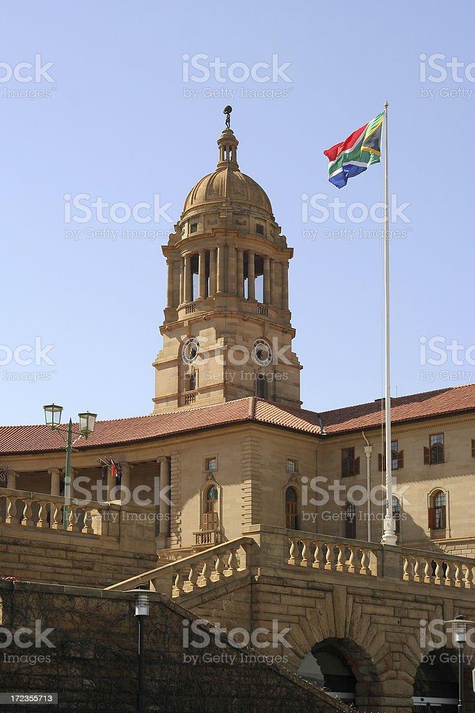 Los edificios de la Unión, Pretoria y el sur de África dos foto de stock libre de derechos