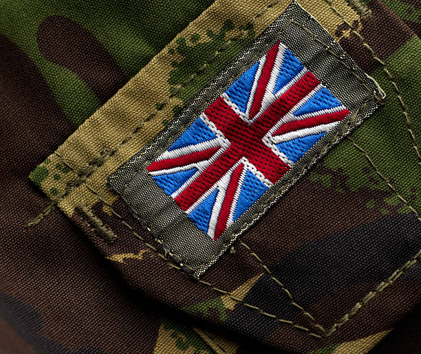 union flag - uk military stock photos and pictures