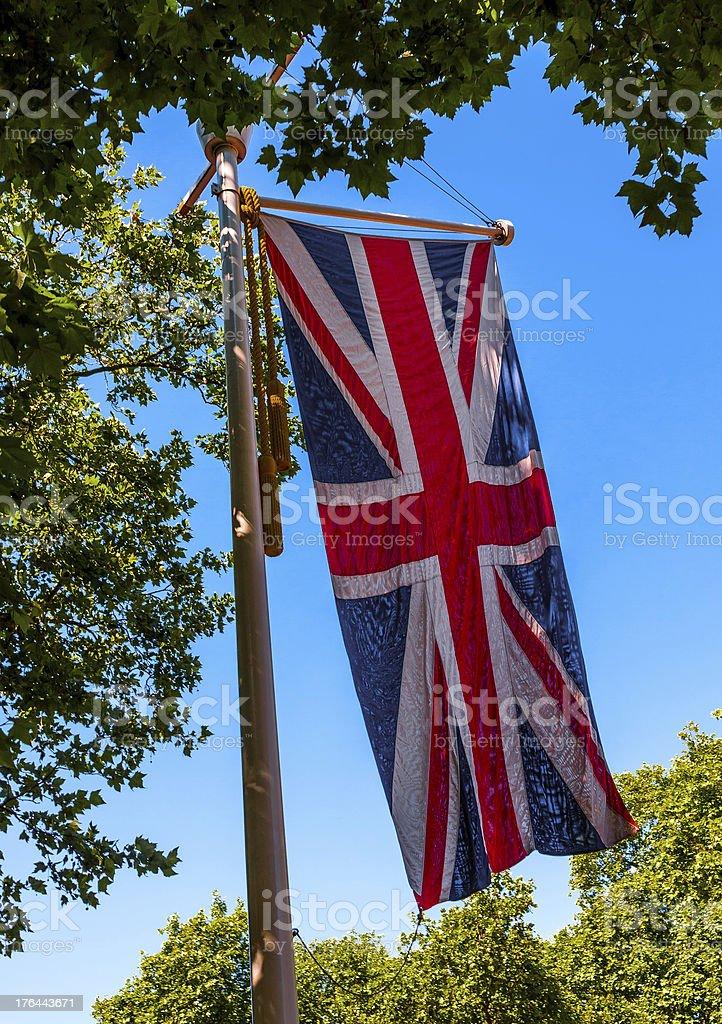 Union Jack, British Flag royalty-free stock photo