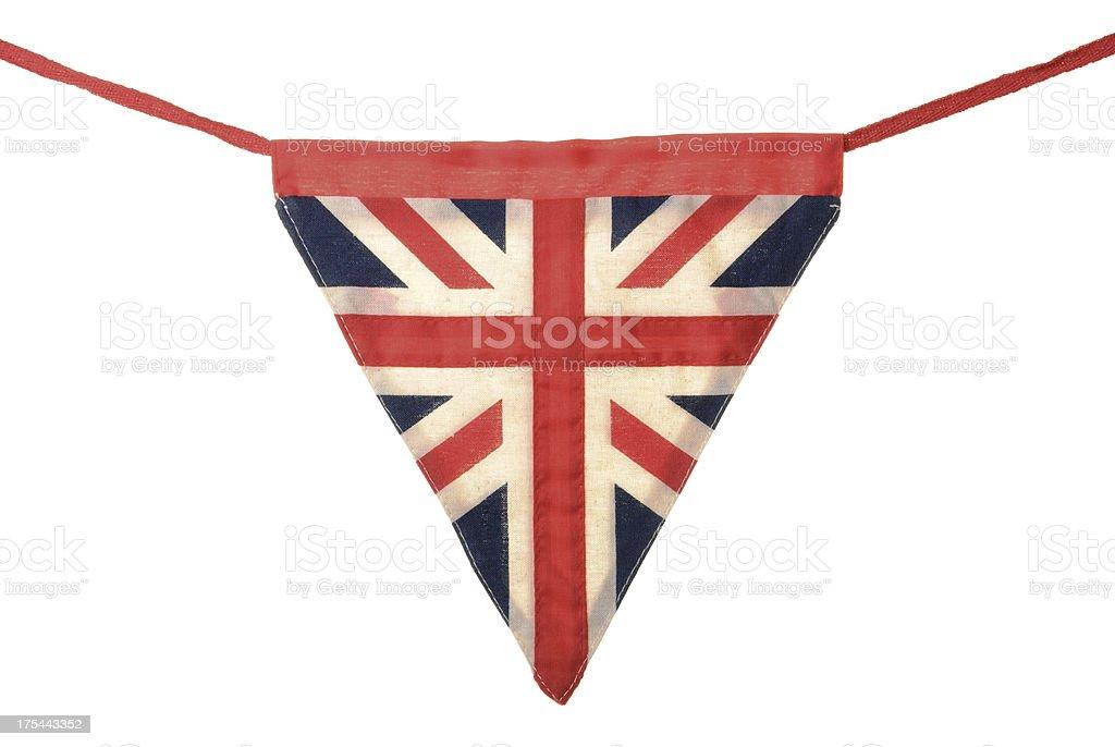 Fotografía de Union Jack Bunting única Bandera Triangular y más ...