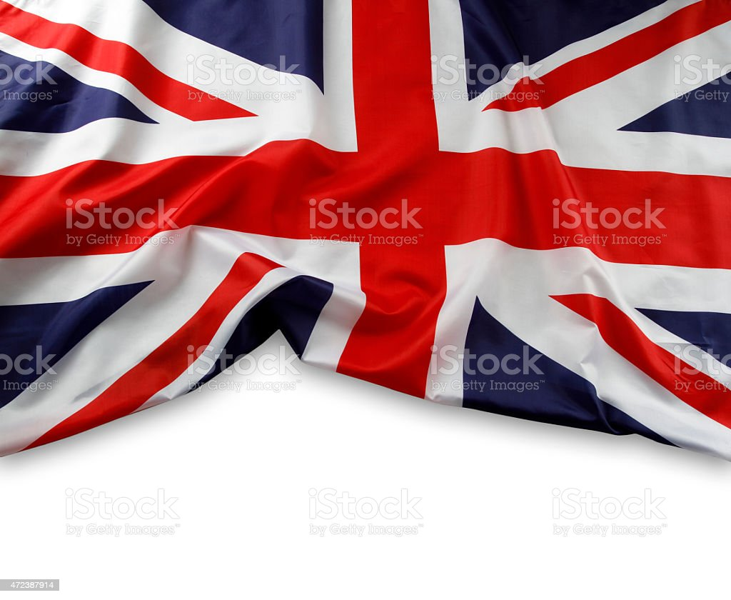 Union Jack flag stock photo