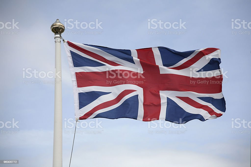 Union Jack Flutter stock photo