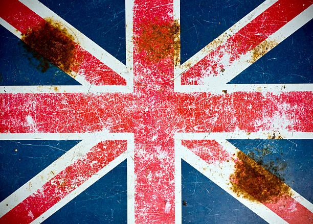 Union Jack Grunge stock photo