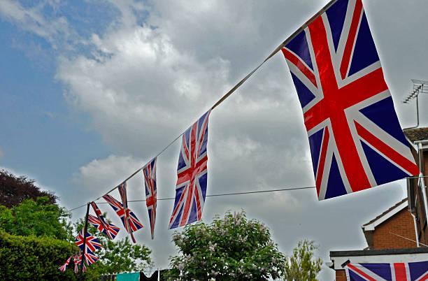 Union Jack Party stock photo