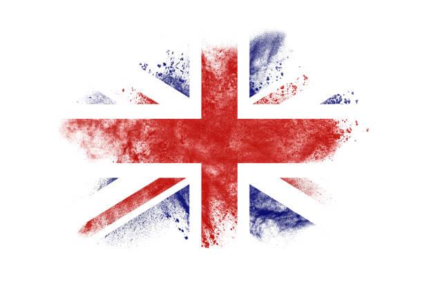 우니온 잭볼 - 영국 국기 뉴스 사진 이미지