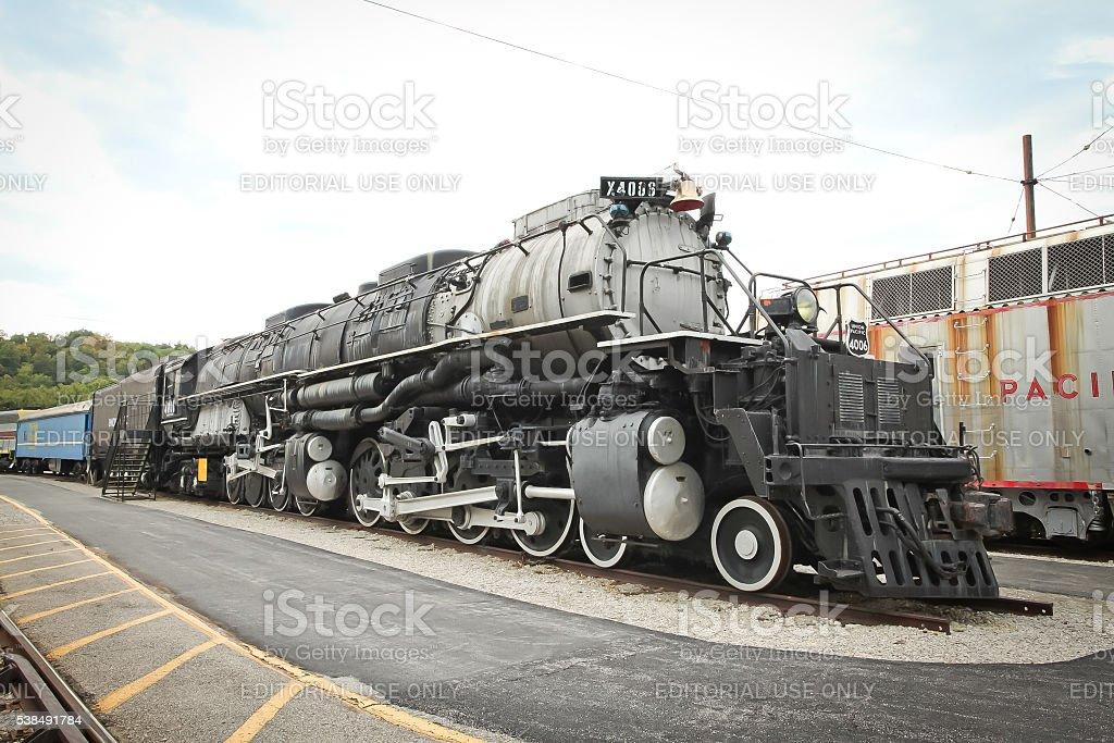 Fotografía de Unión Pacífico Big Boy 4006 48 86 Locomotora De Vapor ...