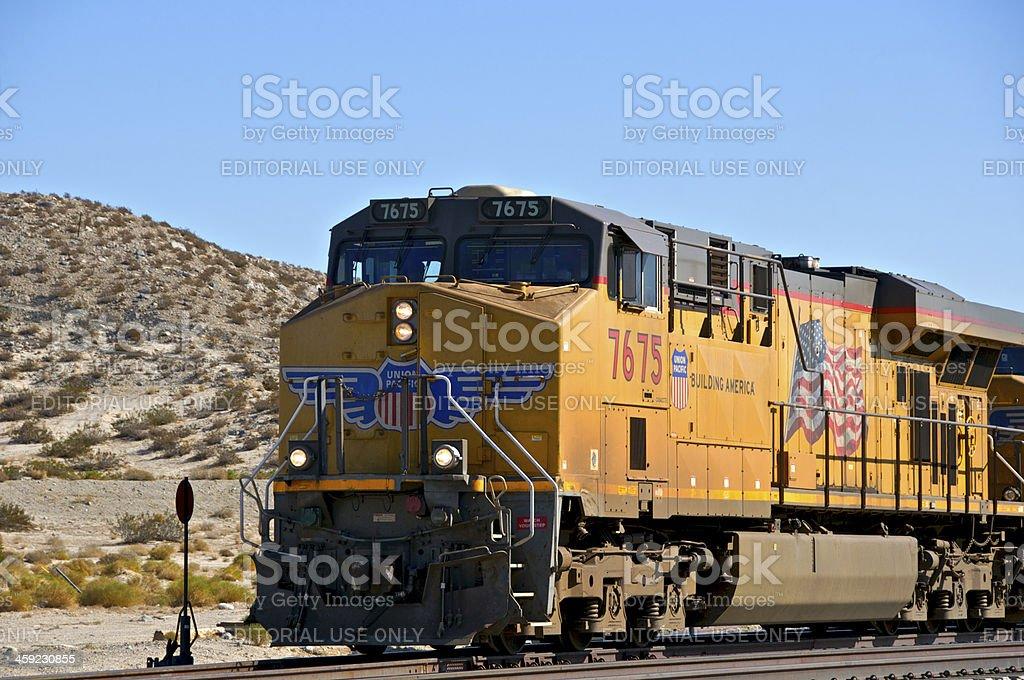 Union Pacific Railroad Train Locomotive Palm Springs