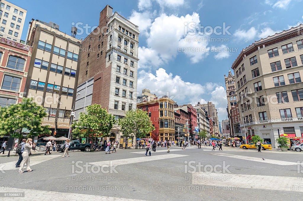 Union Square stock photo