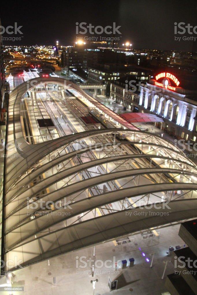 Union Station, Denver - Lizenzfrei Bahnhof Stock-Foto