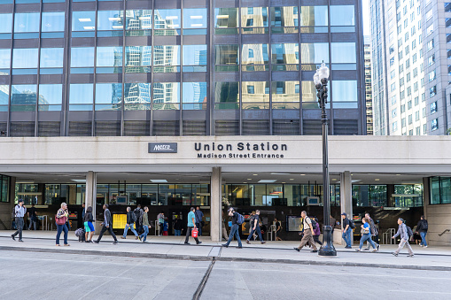 Union Station downtown Chicago