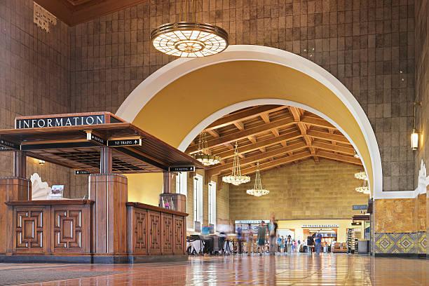 Union Station - Los Angeles stock photo