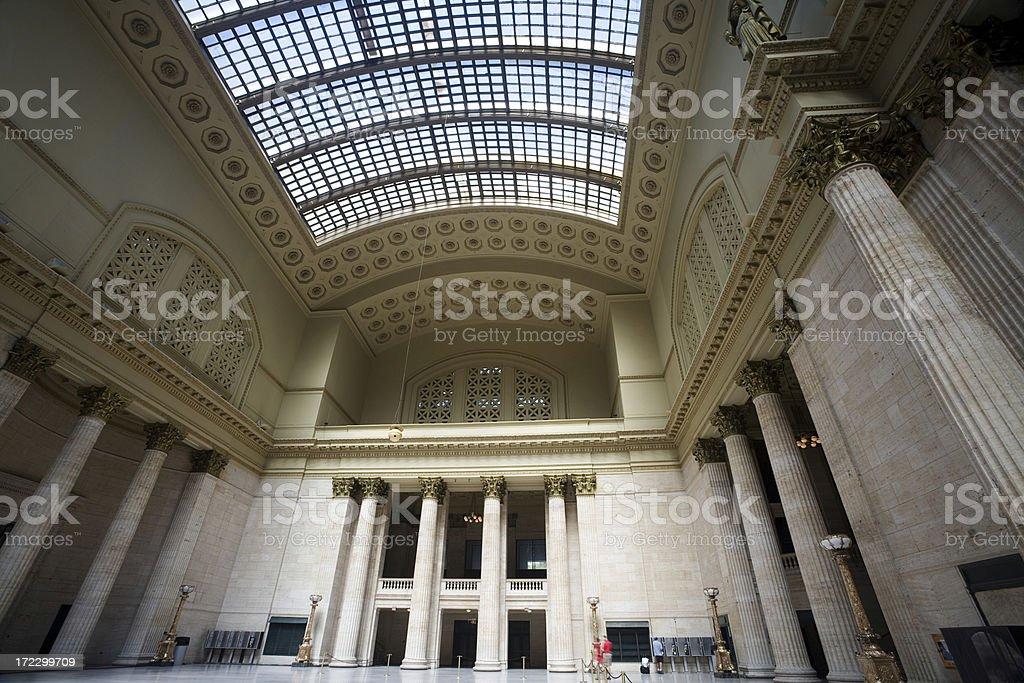 Union Station royalty-free stock photo
