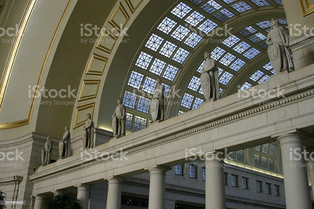 Union Station, Washington D.C. royalty-free stock photo
