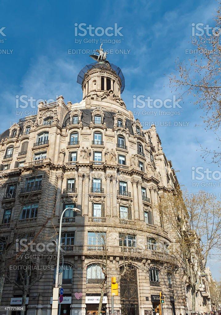 Union y el Fenix Espanol building stock photo