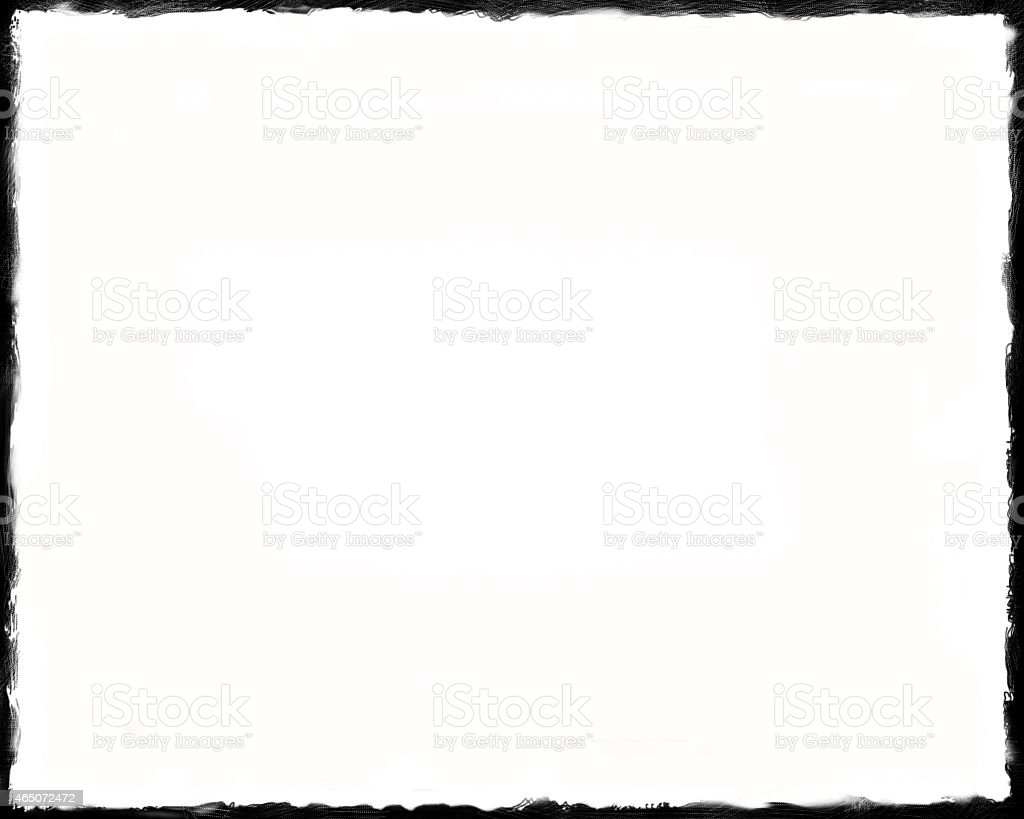Unique Black border on white background thin Unique Black border on white background thin edges 2015 Stock Photo