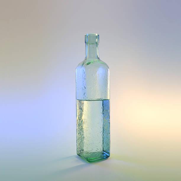 Unique Bottle stock photo