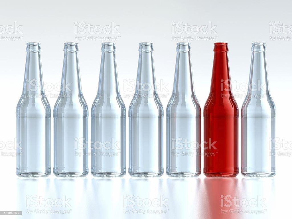 Unique Bottle royalty-free stock photo