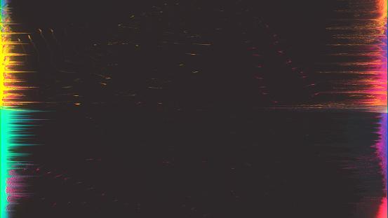 istock Unique Design Abstract Digital Pixel Noise Glitch Error Video Damage 845869588